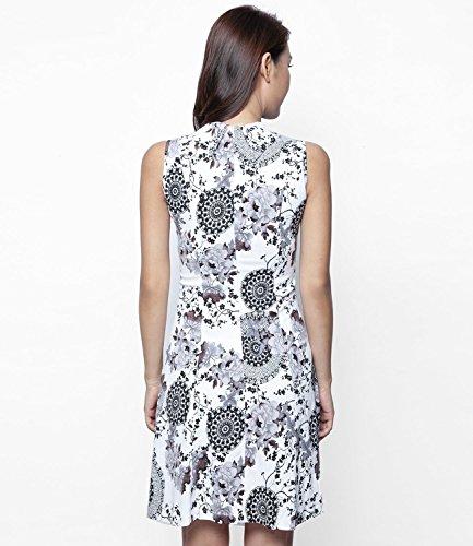Pep Skater vestido floral | blanco–ETERNAL Costa