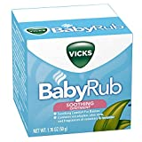 Vicks BabyRub Chest Rub Ointment with Soothing
