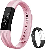 Fitness Tracker Flenco Smart Watch Pedometer Wristband Activity Tracker With Steps Counter / Calorie Counter /