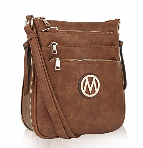 f8ebffff0c8cf MKF Crossbody Bags for women — Adjustable Strap — Vegan Leather — Crossover  Side Messenger Womens