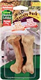 Nylabone 2 Count Healthy Edibles Small Wild Variety Turkey & Salmon Dog Treat Bones Review