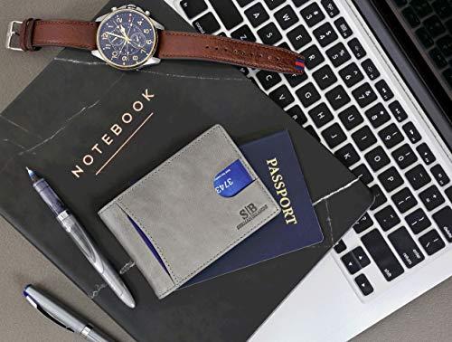 SERMAN BRANDS RFID-Blocking Genuine Leather Wallet