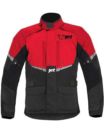 af21dc8bed3 JET Chaqueta Moto Hombre Textil Impermeable con Armadura Tourer (L (EU 50-52