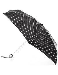 Totes Paraguas plegable de viaje compacto resistente al agua, Swiss Dots, Una talla