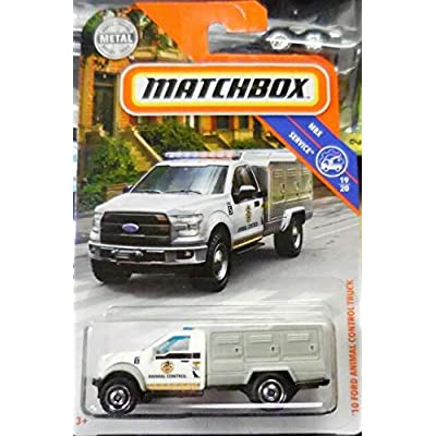 Matchbox '10 Ford Animal Control Truck: Toys & Games