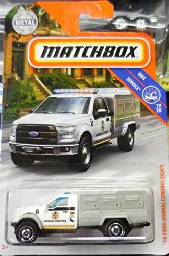 Control Animal - Matchbox '10 Ford Animal Control Truck