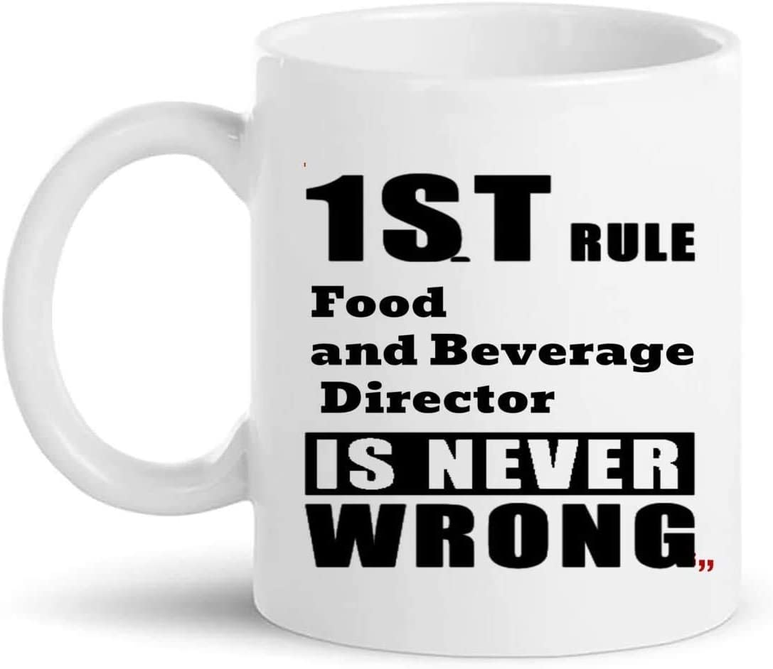 Jokes Food and Beverage Director Mug Gift - Boss Leader Manager 11Oz Coffee Cup Gifts - Office Party Presents for Men Women Cups Mugs T-Shirt