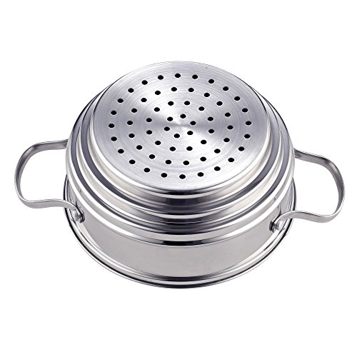 Cook N Home NC-00313 Double Boiler Steamer 4Qt silver by Cook N Home (Image #6)