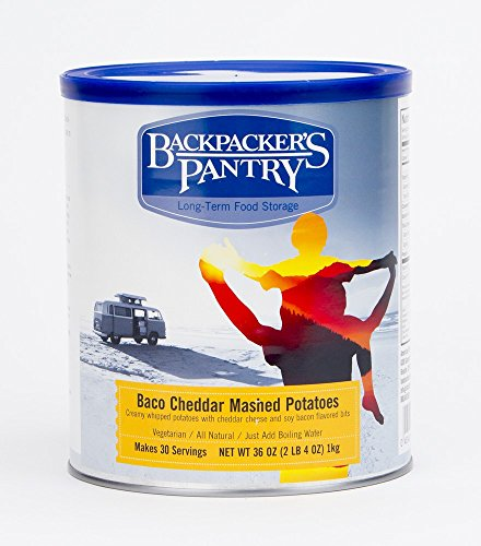 Backpacker's Pantry Bacon Cheddar Mashed Potatoes, 36 Ounces, #10 Can