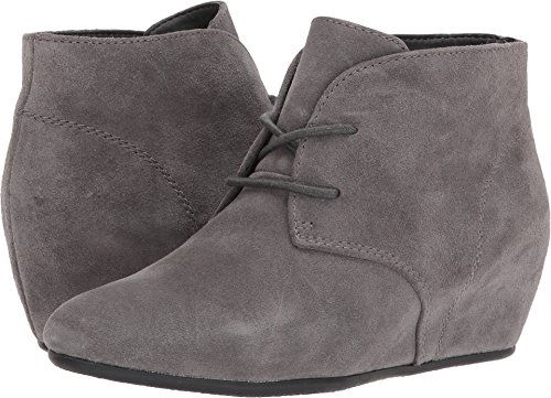 Nine West Women's Joanis Dark Grey Suede 7.5 M US