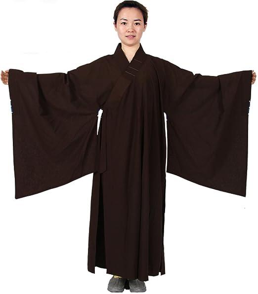Amazon.com: zanying Hombres Mujeres Unisex Meditación Robe ...