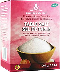 Ecoideas Table Salt, 1000g
