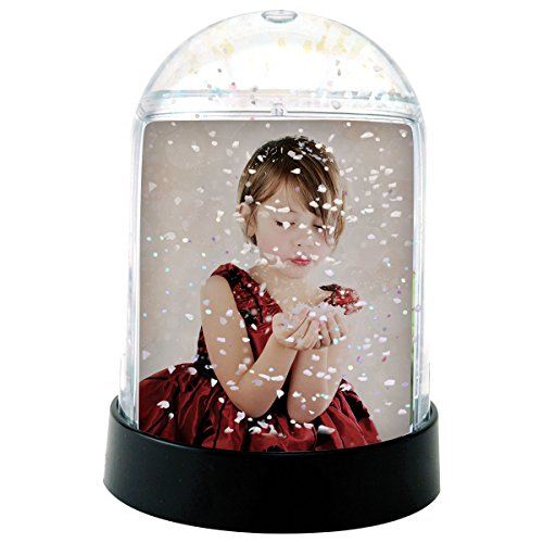 Vertical Photo Snow Globe (Clear)