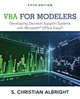 VBA for Modelers: Developing Decision Support Systems with Microsoft Office Excel, 5th Edition Front Cover