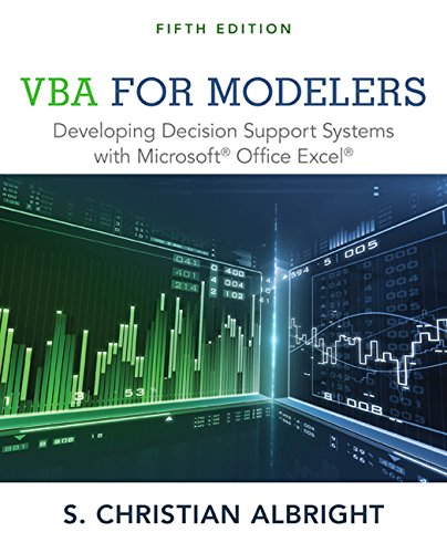 VBA for Modelers: Developing Decision Support Systems with Microsoft Office Excel by imusti
