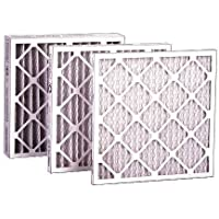 FLANDERS 84355.012025 12 Piece MERV 7 Pre-Pleat 40 Lpd Economy Air Filter, 20 by 25 by 1
