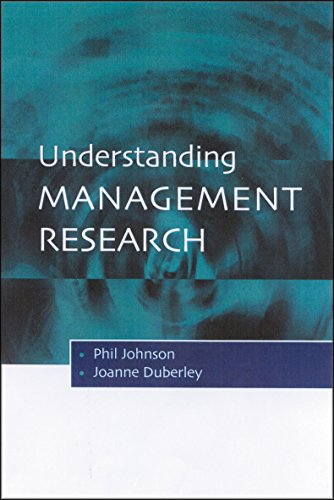 Understanding Management Research: An Introduction to Epistemology Pdf