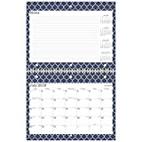 AT-A-GLANCE 2018-2019 Academic Year Wall Calendar, Small, 11 x 8-1/2, Wirebound, Emma Moroccan (W1116M-170A)