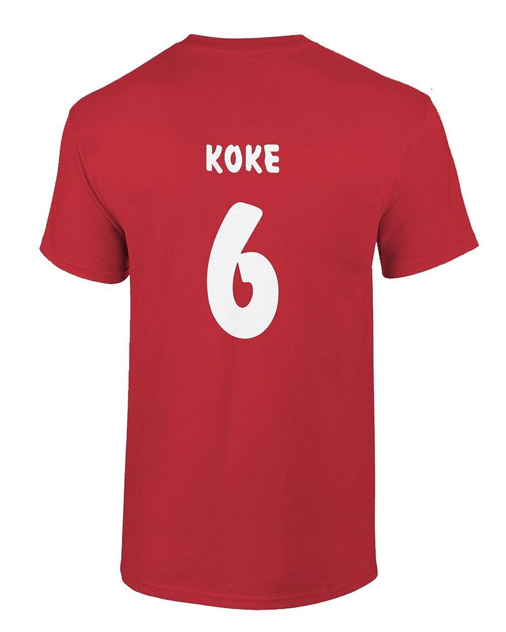 Smart Zone Atletico Madrid Shirt Koke Mens T- Shirt at Amazon Mens Clothing store: