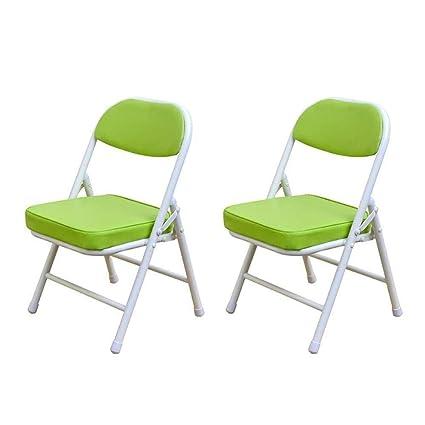 FENGFAN Juego de sillas Plegables de 2 / Estructura de Acero ...