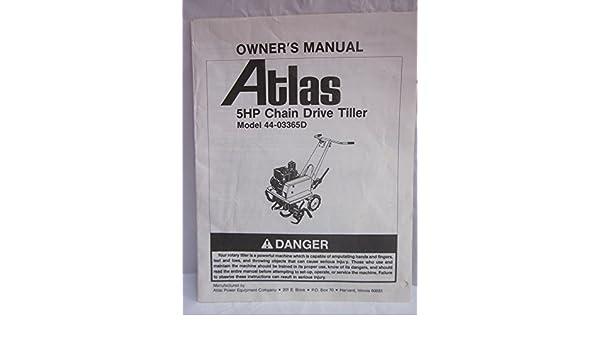 Rotavator manual ebook ebook array array atlas 5hp chain drive tiller model 44 03365d owner u0027s manual atlas rh amazon fandeluxe Gallery