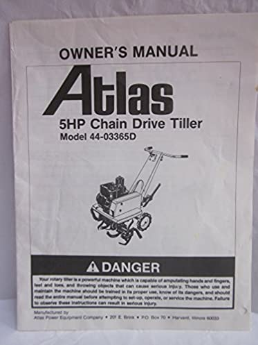Rotavator manual ebook ebook asepbook us array atlas 5hp chain drive tiller model 44 03365d owner u0027s manual atlas rh amazon fandeluxe Gallery