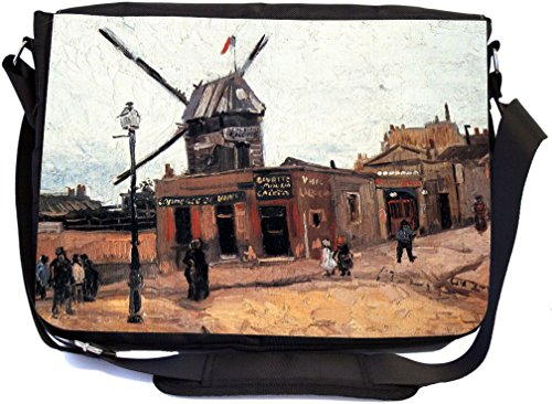 Rikki Knight Van Gogh Art Haute Gafille Design Messenger ...