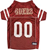 NFL SAN Francisco 49ERS Dog Jersey, X-Large