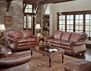 Odessa Leather Furniture Set -Ships FREE