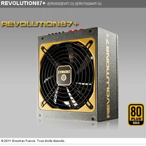 Fuente de alimentaci/ón Enermax ERX650AWT 100-240 V, 24-Pin ATX, 47-63 Hz, Activo, ATX, 80 Plus Gold