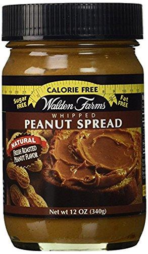 Walden Farms Cinnamon Raisin Peanut Spread, Peanut Spread, Peanut Spread Chocolate w/ Spatula Variety 4 Pack (Variety, 4)