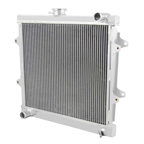 CoolingCare 3 Row 52MM Core Aluminum Radiator for Toyota Pickup 4Runner 2.4L 1984-1995