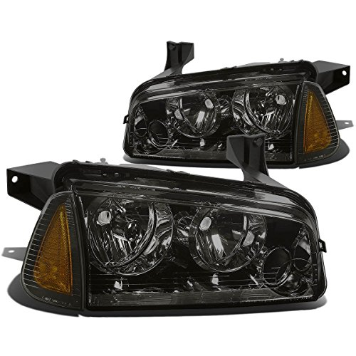 DNAMotoring HL-OH-CHA05-4P-SM-AM Headlight Assembly, Driver and Passenger ()
