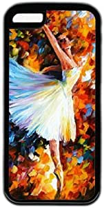LJF phone case Ballet Dance Oil Painting Theme iphone 5/5s Case