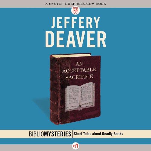 Bargain Audio Book - An Acceptable Sacrifice