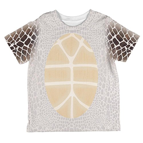 Halloween Sea Turtle Costume All Over Toddler T Shirt Multi 6T -