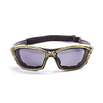 Ocean Sunglasses Lake Garda - Gafas de Sol polarizadas - Montura : Amarilla - Lentes :