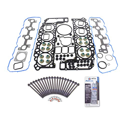 Head Gasket Set Head Bolt Kit Fits: 99-03 Dodge Dakota Jeep Grand Cherokee 4.7L