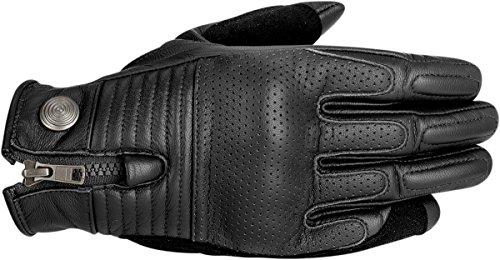 Alpinestars Rayburn Leather Motorcycle Glove - Black - Large