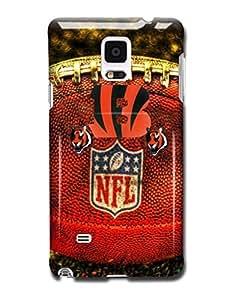 Tomhousomick Custom Design The NFL Team Cincinnati Bengals Case Cover for Samsung Galaxy Note 4 by kobestar