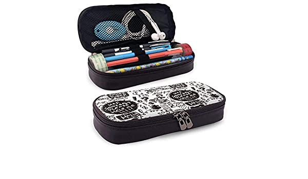 Graffiti Estuche Case Zipper Bag Stationery Pouch Holder Box Organizer for Middle High School Office College: Amazon.es: Oficina y papelería