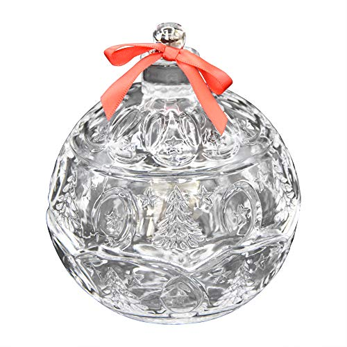 Fitz and Floyd 325100-FF Christmas Tree Ornament Ball Box with ()