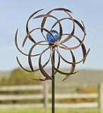 Plow & Hearth 52973 Metal Wisp Outdoor Wind Spinner