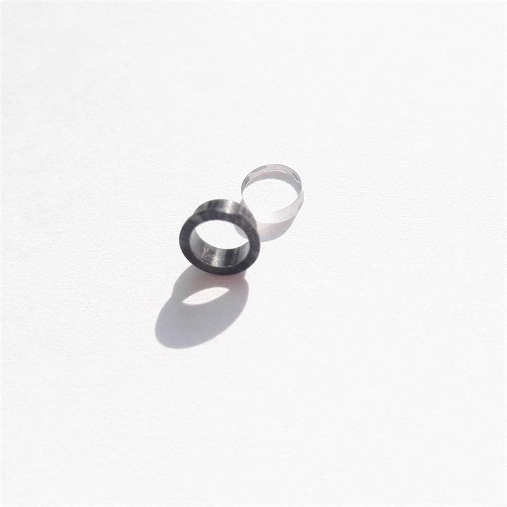 SHARROW Archery Hooded Peep Sight Aluminum Housing with Clarifier Lens and 5 Size Inner Cores Aperture Kit for Compound Bow