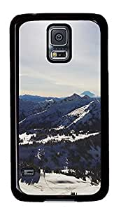 Samsung Galaxy S5 landscapes nature snow mountains 38 PC Custom Samsung Galaxy S5 Case Cover Black