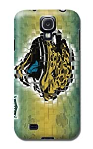 Personalized Monogram Samsung Galaxy S4 Case Samsung Galaxy S4 Tpu Back Cover Jacksonville Jaguars Football Nfl