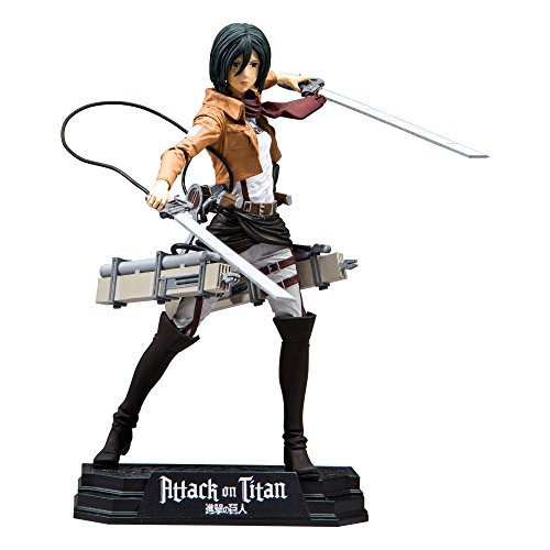McFarlane Toys Attack On Titan Mikasa Ackerman Action Figure, 7