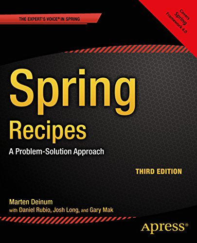 Download Spring Recipes: A Problem-Solution Approach Pdf