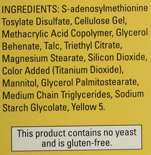 Nature Made SAM-e Complete 400 mg - 2 Boxes, 60 Enteric Tablets Each by Nature Made (Image #3)