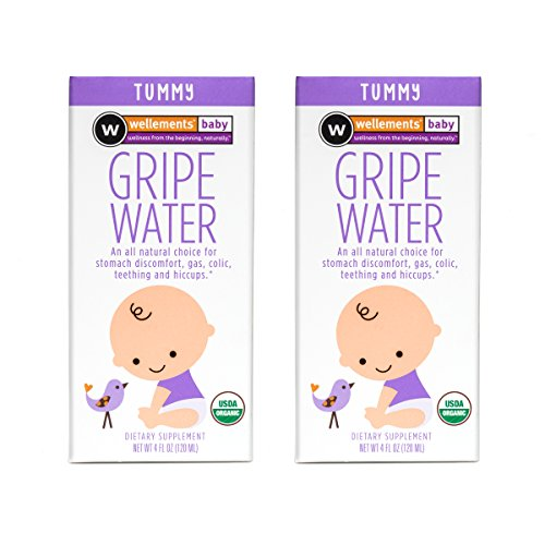 Wellements Baby Gripe Water, 2 Count